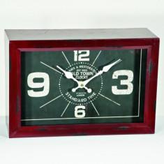 Ceas metalic de masa Old Town - Ceas cu proiectie