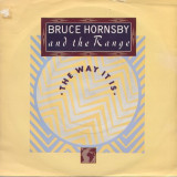 Bruce Hornsby and The Range - The Way It Is (1986, RCA) Disc vinil single 7