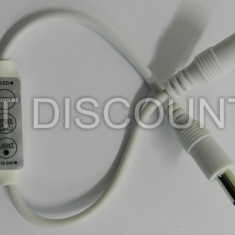 MINI Dimmer banda LED 5050 3528 o singura culoare controller