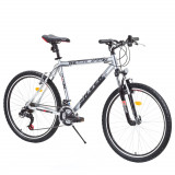 Mountain Bike DHS, 24 inch, 26 inch, Numar viteze: 21 - Bicicleta DHS Silver