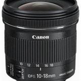 Obiectiv DSLR - Canon LENS CANON EF-S 10-18/4.5-5.6 IS STM