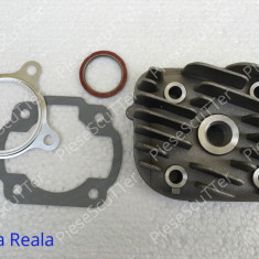 Set cilindri Moto - Chiuloasa + Garnituri Scuter Malaguti F12 ( 80cc - Racire AER )