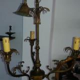Mobilier - Lustra veche cu 3 brate candelabru