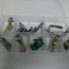 Set 9 picioruse piese accesorii masina de cusut Singer, Pfaff, Brother, Nicoleta