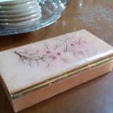 Metal/Fonta - Cutie bijuterii veche