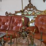 candelabru vechi din alama