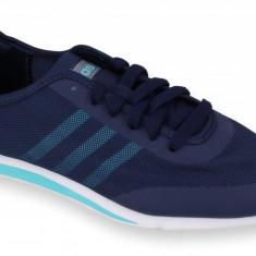Adidasi barbati - Pantofi Sport Femei, Adidas, Stil Racer TM, Bleumarin-38 2/3