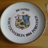 Decoratiuni - Schutzenverein farfurie decorativa