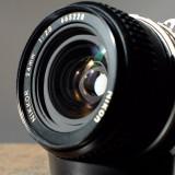 Obiectiv foto wide 24mm/2.8 Nikon Nikkor Ai - Obiectiv DSLR Nikon, Standard, Manual focus, Nikon FX/DX