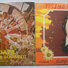 Muzica Folk, VINIL - Victor Socaciu Disc Vinil, Vinyl - Caruta Cu Flori + Roata - 2 buc