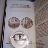Medalii Romania, An: 2007 - SV * Romania BNR 10 LEI 2007 <150 Ani de Industrie Petroliera> ARGINT .999 PROOF