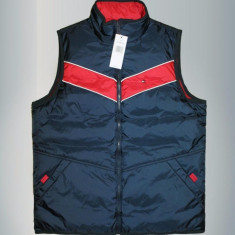 Vesta Tommy Hilfiger Reversible Vest S M L si XL - Vesta barbati Tommy Hilfiger, Culoare: Albastru