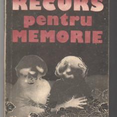 (C6577) ELENA GRONOV-MARINESCU - RECURS PENTRU MEMORIE - Roman