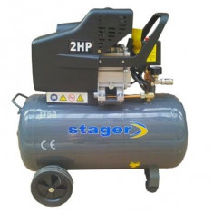 Compresor electric - Compresor de aer 50 litri Stager - HM 2050B