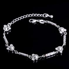 Bratara argint, Unisex - Bratara placata cu argint 925 + saculet cadou