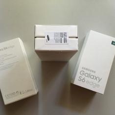 Telefon Samsung, Verde, 32GB, Neblocat - Samsung G925F S6 Edge 32GB Emerald Green SIGILATE, necodate, Garantie 2ani - 2349r