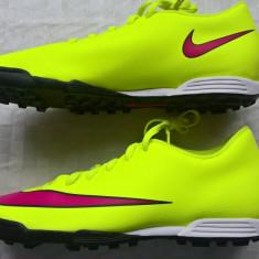 Nike Mercurial Vortex II TF - adidasi originali barbati, ghete fotbal Nike!, Marime: 43, Culoare: Galben, Teren sintetic: 1