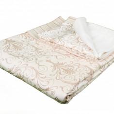 Cuvertura de pat cu doua fete de perne
