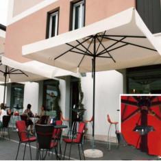 Mobila terasa gradina - Umbrela Napoli - cu schelet de aliaj metalic usor 4 m - Sco4000N