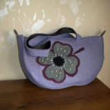 Geanta din fetru - Geanta handmade