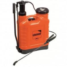 Stropitoare gradina - Pompa manuala de stropit tip rucsac Stocker - 20 litri
