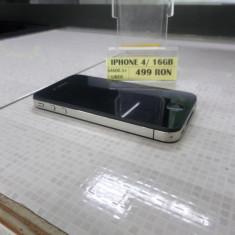 iPhone 4 Apple / 16 GB (LM03), Negru, Neblocat