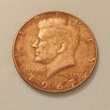 HALF DOLLAR 1967 11, 4 GRAME SUA, America de Nord