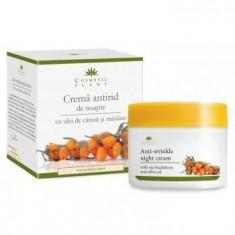 Cosmetice - Crema Antirid Noapte Catina+Masline 50ml Cosmetic Plant
