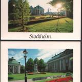 Lot 2 c.p. ilustrate, Stockholm, necirculate, Fotografie, Europa