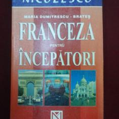 Ghid de conversatie niculescu - Maria Dumitrescu-Brates - Franceza pentru incepatori - 471265