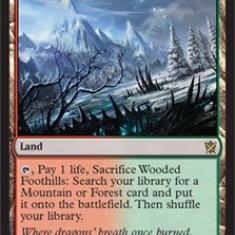 MTG Wooded Foothills - Cartonas de colectie