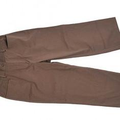 Pantaloni trei sfert -maro-Germania...OFERTA !! - Pantaloni dama, 42, Din imagine
