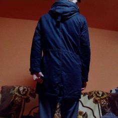 Geaca barbati - Geaca Bershka Lunga in Jos ( Cardigan ) [S]