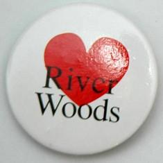 """Insigna """" River Woods """" - Insigna fotbal"""