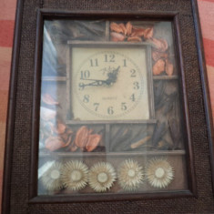 Ceas de perete fata pentru ceas lemn ornament pentru casa hobby