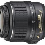 Obiectiv Nikon AF-S DX Zoom-Nikkor 18-55mm f/3.5-5.6G ED II Negru - Obiectiv DSLR