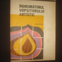 V. CONSTANTINESCU - INDRUMATORUL VOPSITORULUI ARTISTIC - Carte Hobby Amenajari interioare