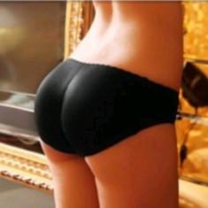 Chiloti dama - CHILOTI PUSH-UP-NEGRU -ideal pt un posterior bombat si ferm