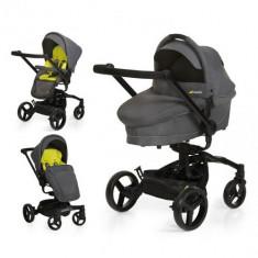 Set Carucior Twister Duoset Lime - Carucior copii 2 in 1 Hauck