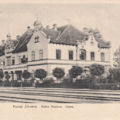 BRAD (HUNEDOARA), GARA, CLASICA - Carte Postala Crisana pana la 1904, Necirculata, Printata