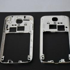 Carcasa rama cromata mijloc Samsung Galaxy S4 I9505 (butoane volum)