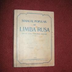 Manual de limba rusa pentru uzul cursurilor populare