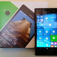 Nokia Lumia 730 Dual SIM Negru - Telefon Nokia, Neblocat