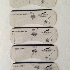 Sabloane sprancene, Set 5 modele diferite sabloane
