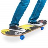 Skateboard din Lemn (4 roti)