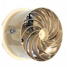 Ventilator recirculare/destratificare aer solar sau ciupercarie
