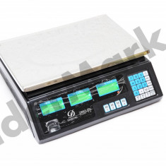 Cantar digital cu calcul pret 5g - 40Kg alimentare priza sau acumulator - inclus - Cantar/Balanta