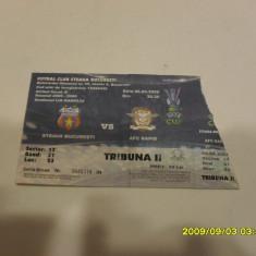Bilet Steaua - Rapid [uefa] - Bilet meci