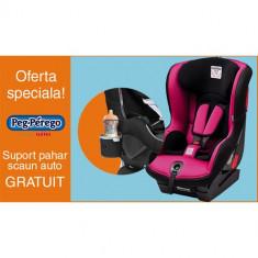 Scaun Auto Viaggio1 Duo Fix K + Suport Pahar PROMO Fleur - Scaun auto bebelusi grupa 0+ (0-13 kg) Peg Perego