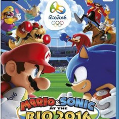 Mario & Sonic At The Rio 2016 Olympic Games Nintendo Wii U - Jocuri WII U